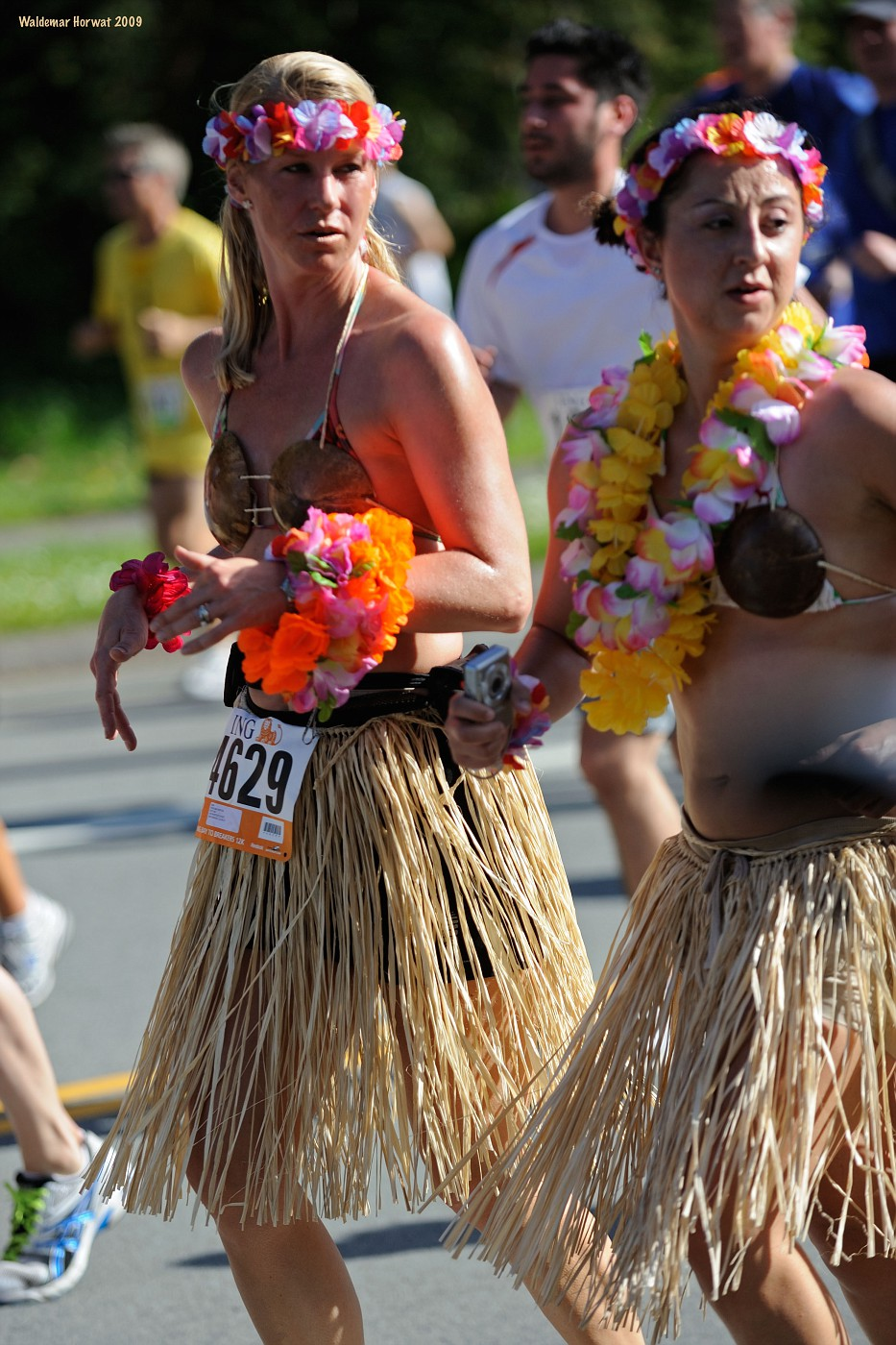 Leis and Coconut Bras