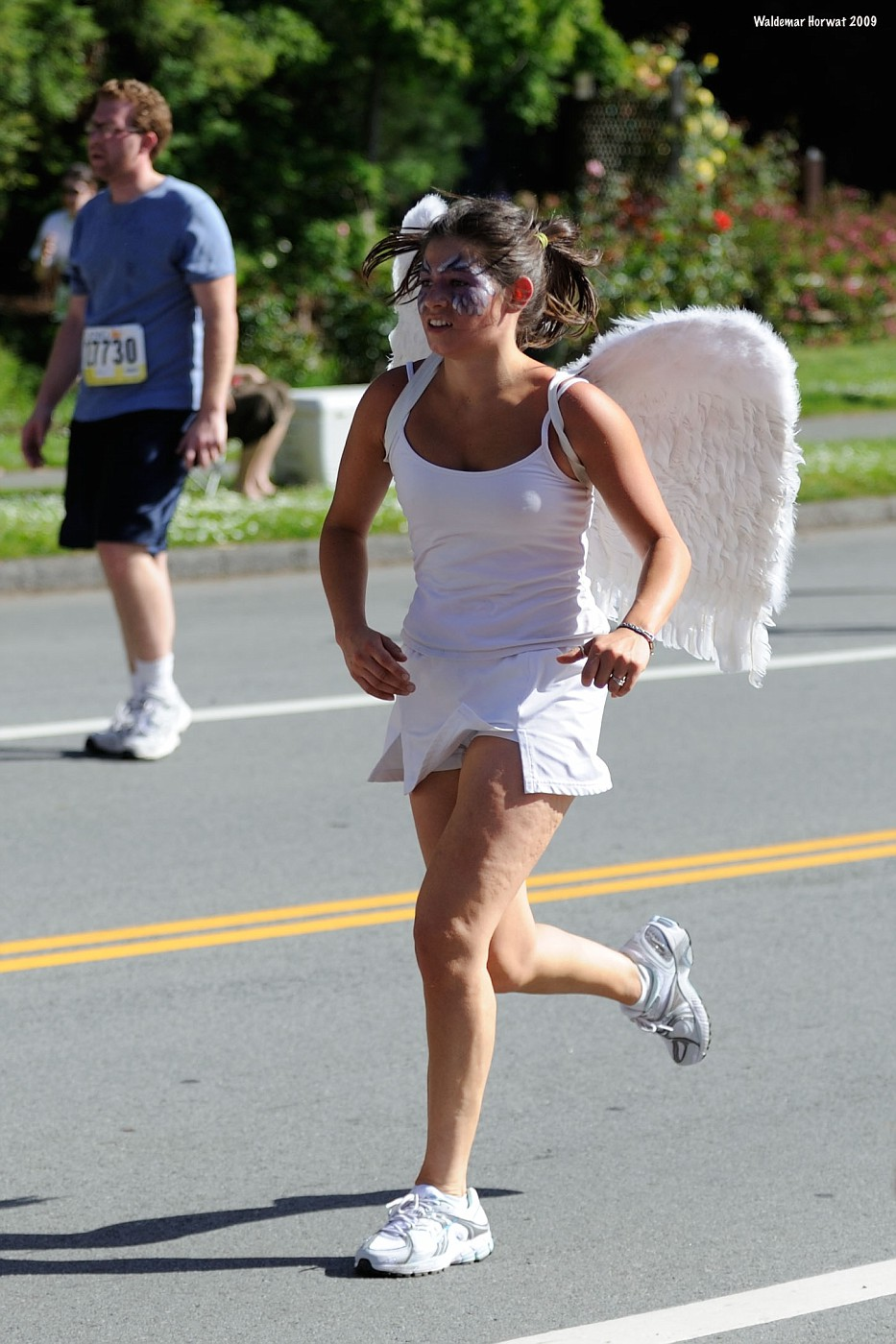 Angel Running
