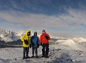 Mike, Ben and I on the summit