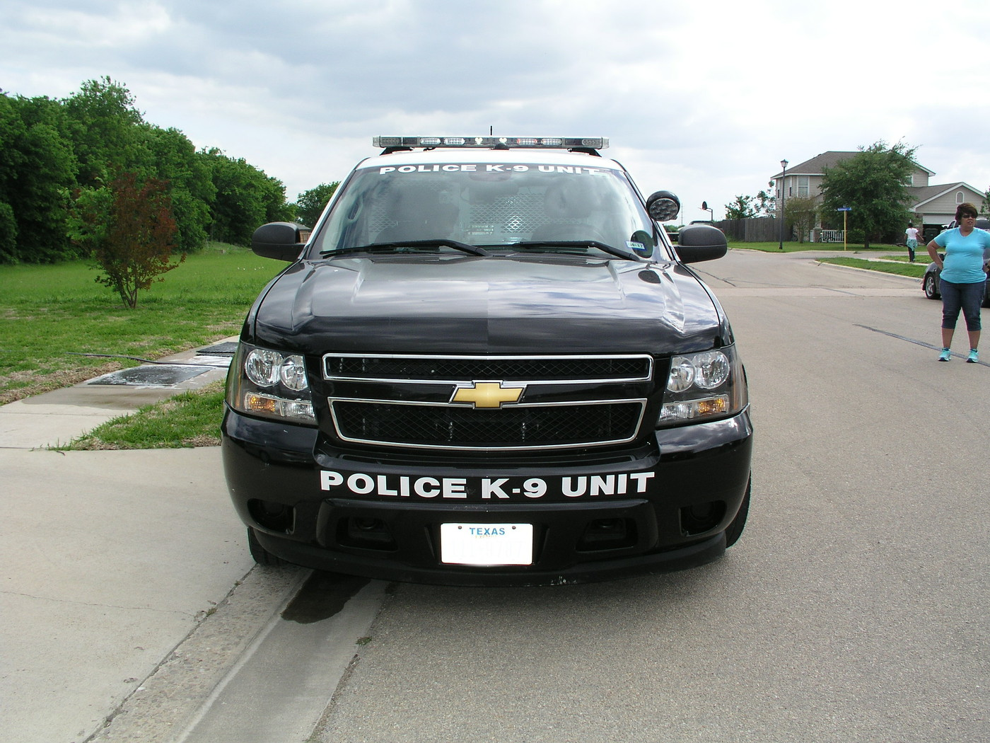 Chevy SUV Police K-9 Unit  BillAustinPic03