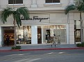 Rodeo Drive in Beverly Hills,Los Angeles.