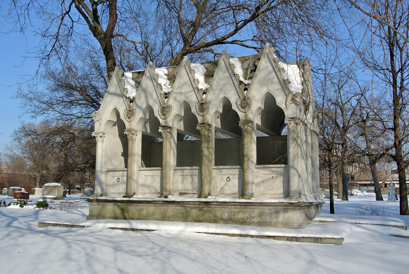 Henry Honoré family crypt