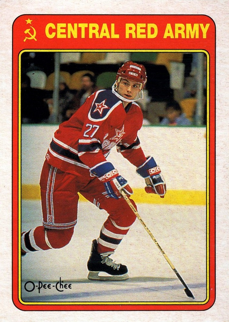 1990-91 O-Pee-Chee Central Red Army #20R (1)