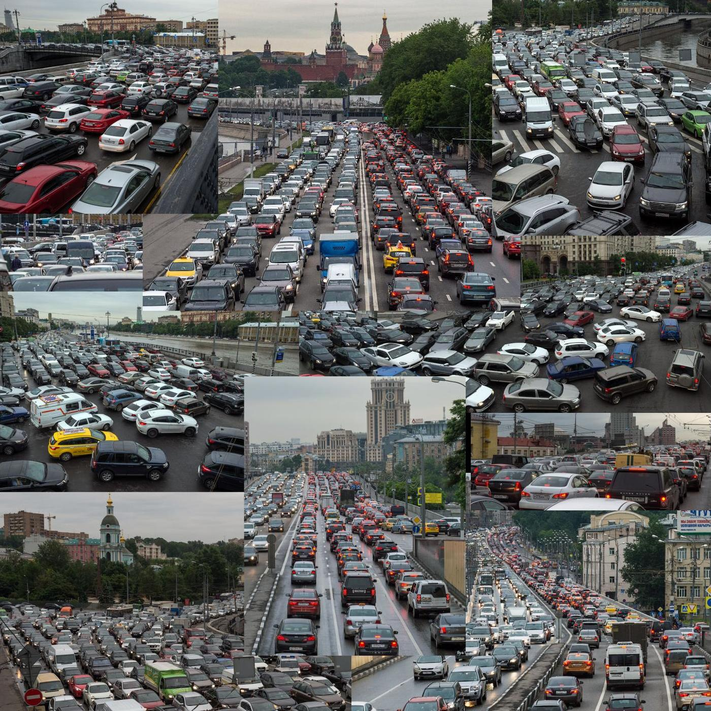 Moscow-traffic