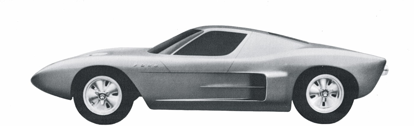 Clay model of the original Ford design study