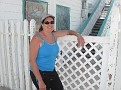 Captian Patti relaxes in Hope Town