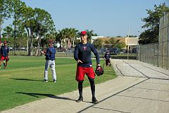 IMGP1775 - Joe Mauer - no wonder he has leg issues, look how skinny they are
