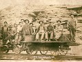 Railroad Crew. Andy Massengale on the right.