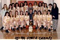 23 - Oneida High School Lady Indians State Champions