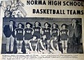 Norma HS Basket Ball Team - 1970 Girls Team
