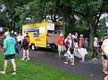 """This is the Penske Truck that I drove to and in Central Park...  thru thousands of people... It was """"insane"""" '-)))"""