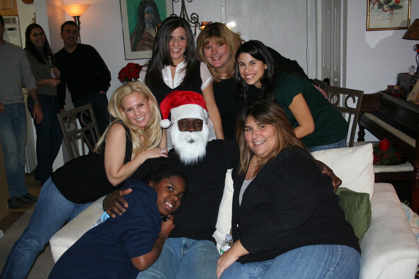 Chris Kringle and his posse!