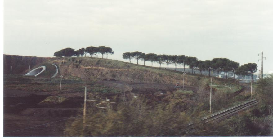 Heading to Naples - The Appian Way