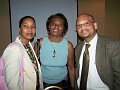 Marie May Gousse, Ansie Blot, Dr Angelo Gousse.