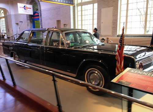 US - President Kennedy's 1961 Lincoln Limo