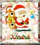 Santa with friendsTaKendra