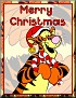 Tigger as SantaTaMerry Christmas