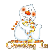 Checking In - CandyCornGhost