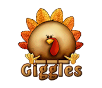 Giggles - ThanksgivingCuteTurkey