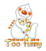 Too funny - CandyCornGhost