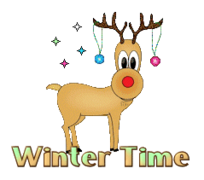 Winter Time - ChristmasReindeer