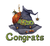 Congrats - CuteWitchesHat