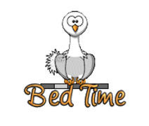Bed Time - OstrichWithBlinkie
