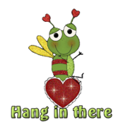 Hang in there - BeeHeart