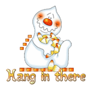 Hang in there - CandyCornGhost