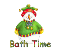 Bath Time - ChristmasJugler