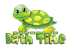 Bath Time - CuteTurtle