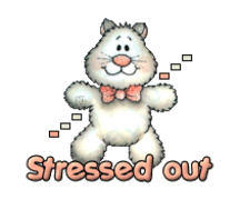 Stressed out - HuggingKitten NL16