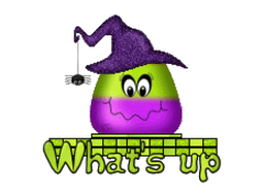 What's up - CandyCornWitch