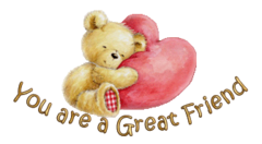 You are a Great Friend - ValentineBear2016