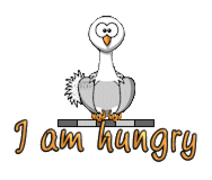 I am hungry - OstrichWithBlinkie