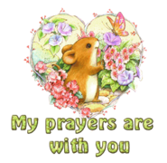 My prayers are with you - MouseHeartAndFlowers