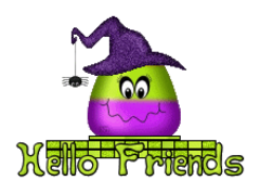 Hello Friends - CandyCornWitch