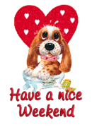 Have a nice WE - ValentinePup2016