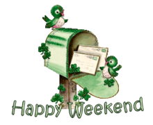 Happy Weekend - StPatrickMailbox16