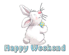 Happy Weekend - HippityHoppityBunny
