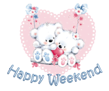 Happy Weekend - ValentineBearsCouple
