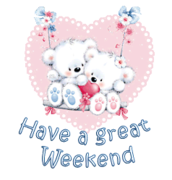 Have a great WE - ValentineBearsCouple