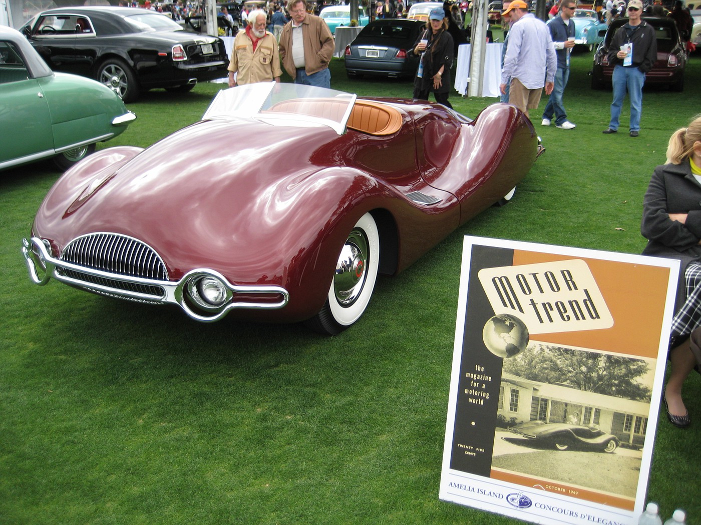 Norman Timbs Streamliner