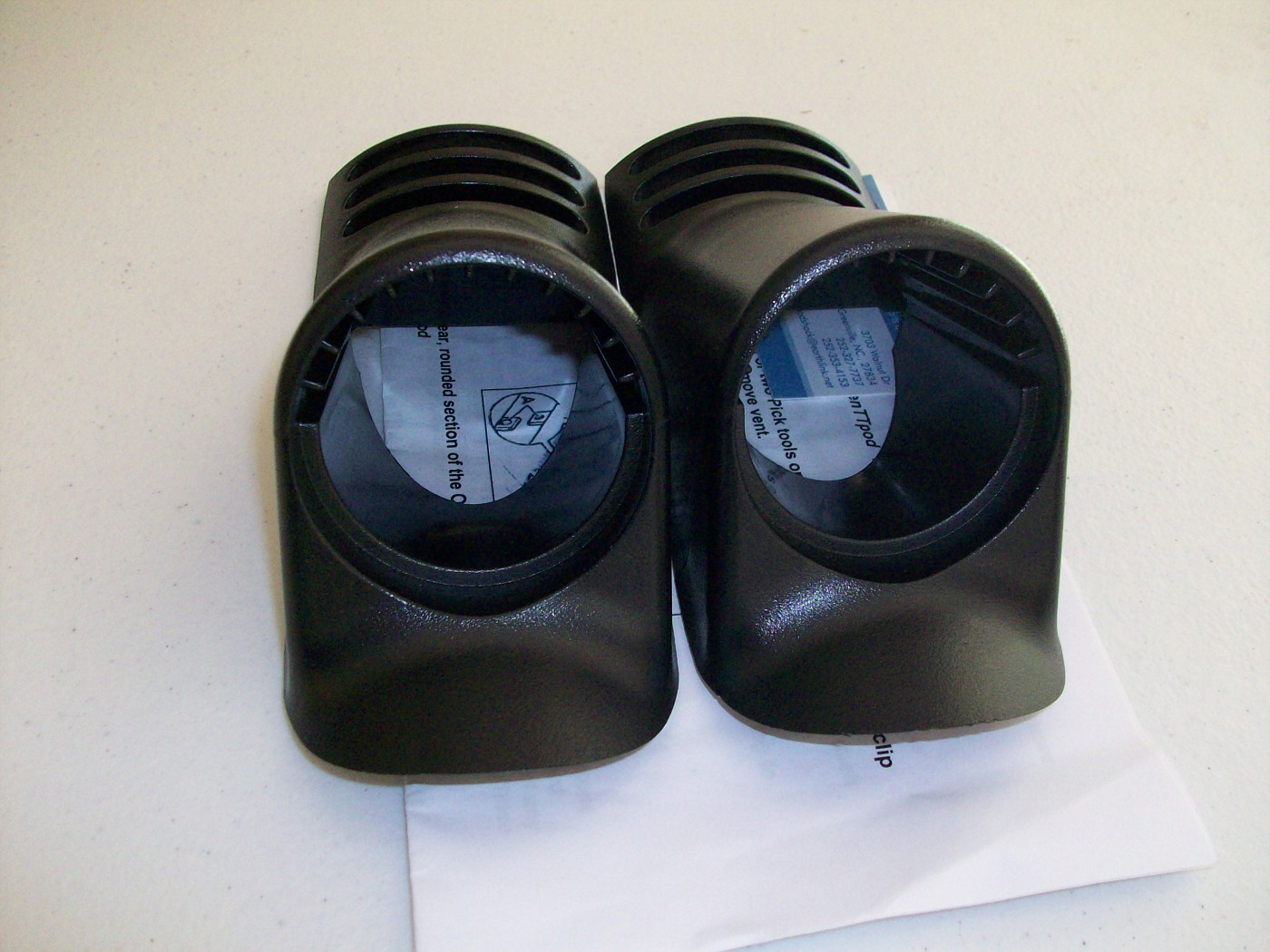 SOLD $30 Top Dash Vent Gauge Pod Kit (2) new with instructions