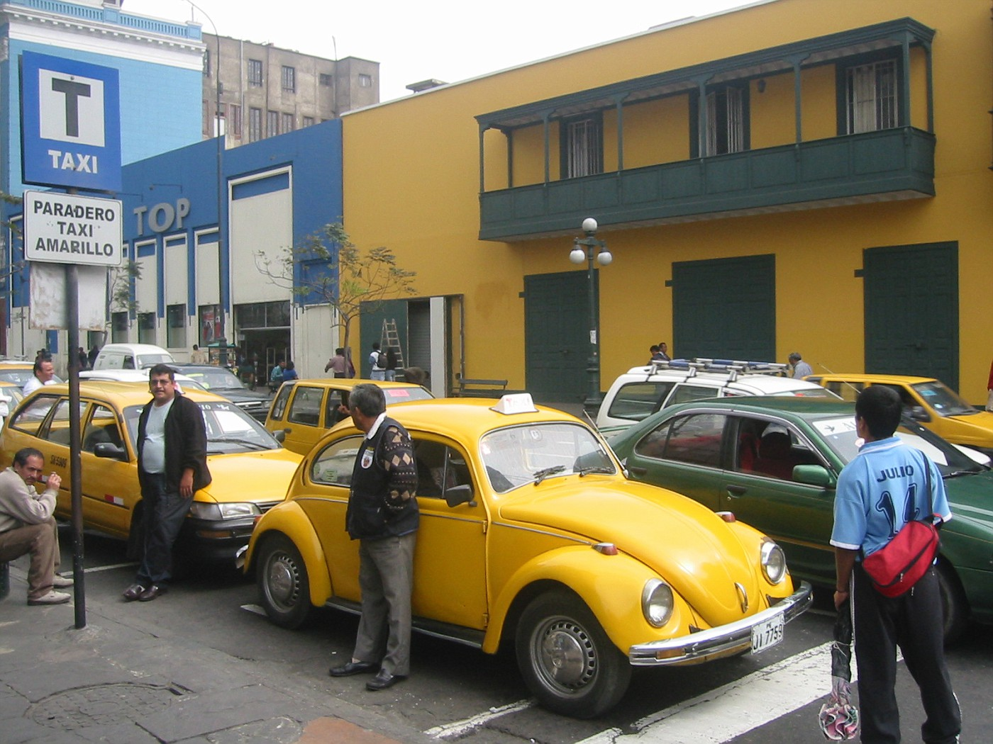 Lima, Vw-taxi