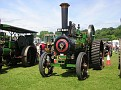 """Burrell traction engine, NO 2093.Works number 6881. 1898. """"The Duke of Ongar""""."""