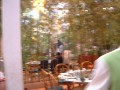 View in the restaurant