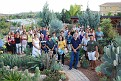 the members of the CCSS that attended  event at the Cyprus Cactus and Succulent Botanical Garden