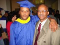 The graduate and his father.