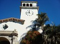 The tower of the court house in Santa Barbara.